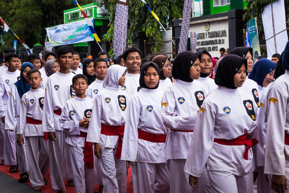 Martial arts group - Tasikmalaya October Festival