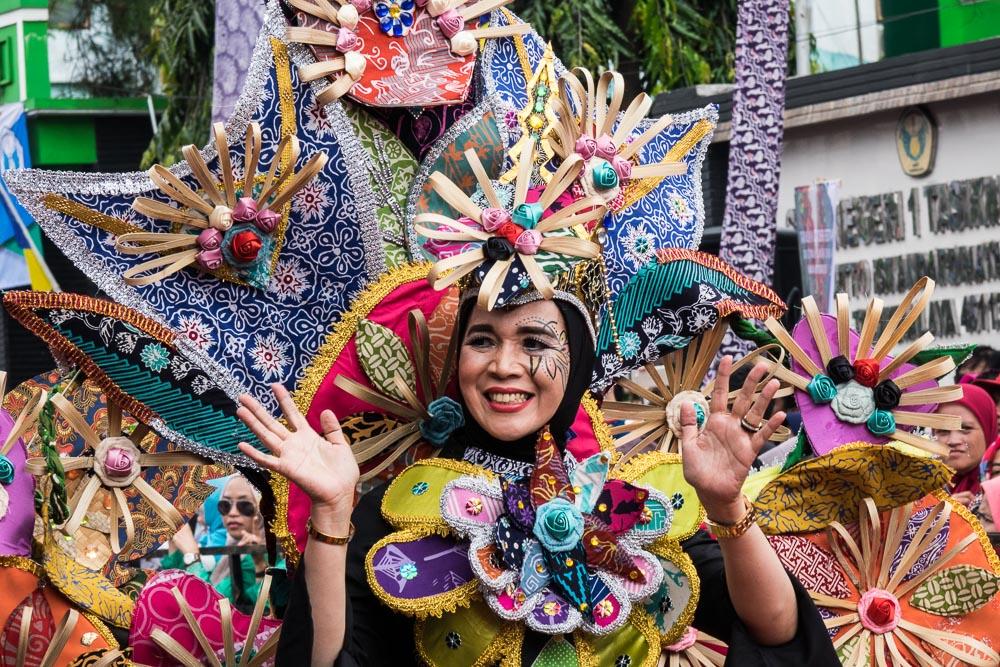 Weaving and cloth - Tasikmalaya October Festival