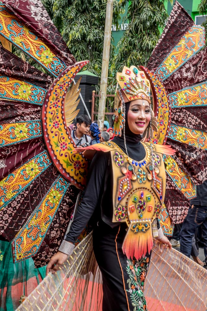 Local batik styles - Tasikmalaya October Festival