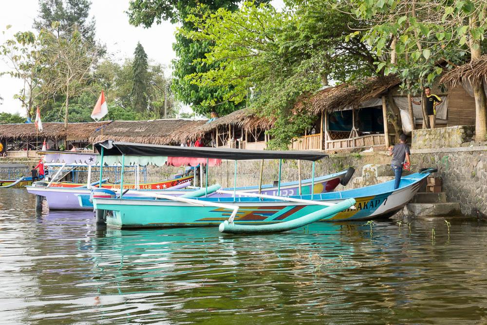 Boats at Situ Gede - Tasikmalaya October Festival