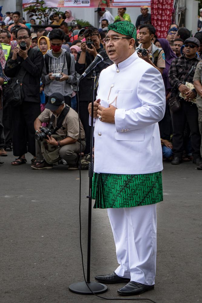 The Wali Kota of Tasikmalaya - Tasikmalaya October Festival