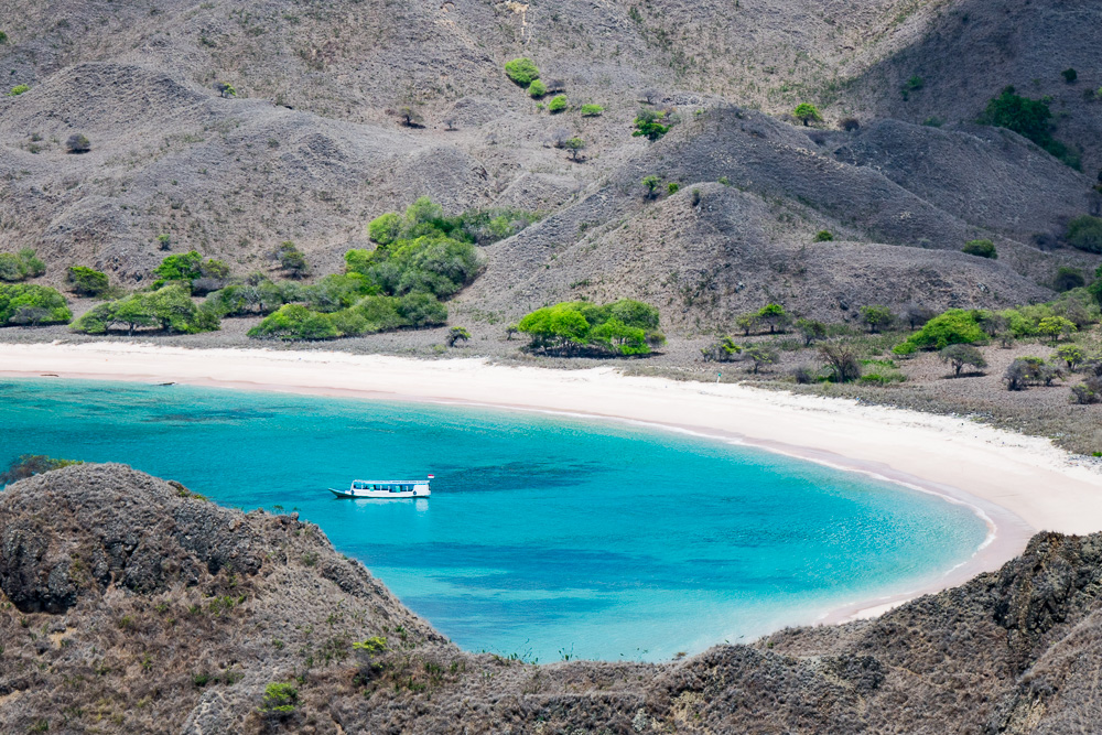 The bay of Padar - Komodo Island Adventure
