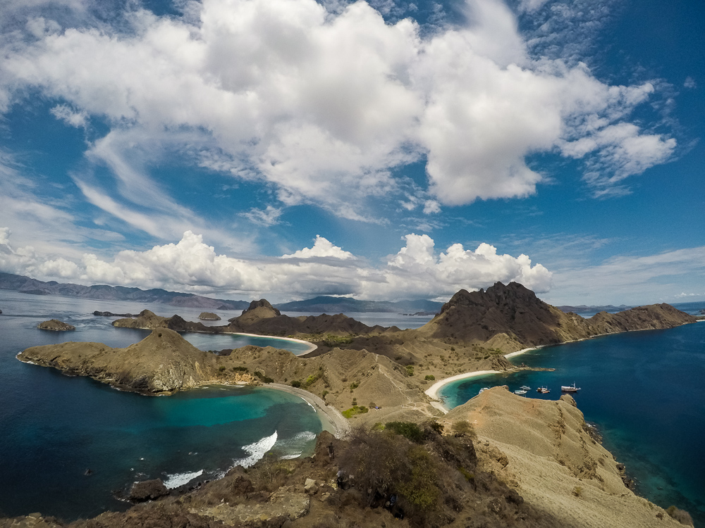 Padar Island Viewpoint - Komodo Island Adventure