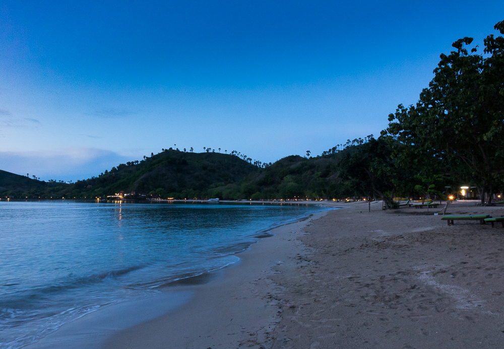 Beach at Sylvia Hotel - Komodo Island Adventure