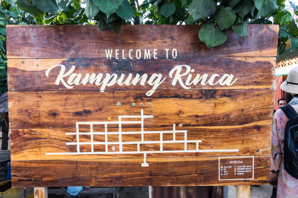 Kampung Rinca - Komodo Island Adventure