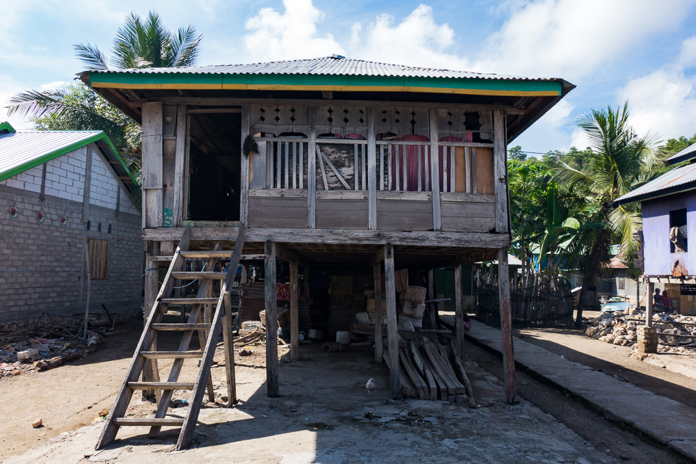 Typical Rinca house - Komodo Island Adventure