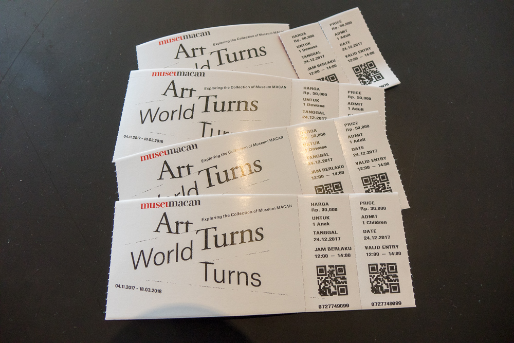 Tickets for Art Turns, World Turns - Museum MACAN Jakarta