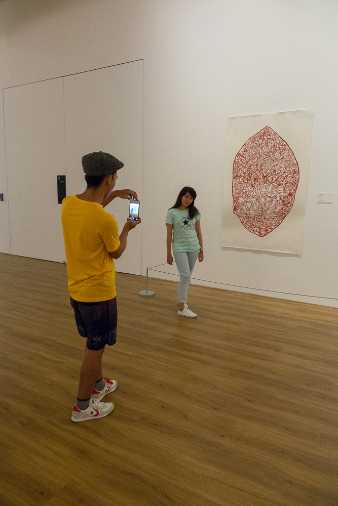 Take my picture here - Museum MACAN Jakarta