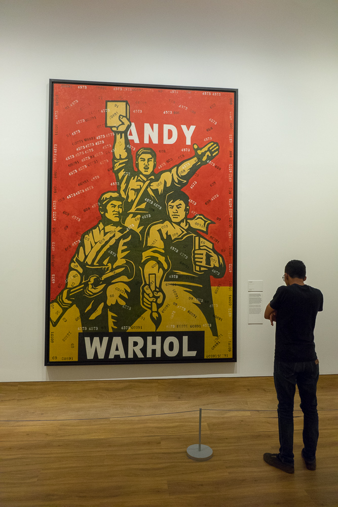 Learning about Warhol - Museum MACAN Jakarta