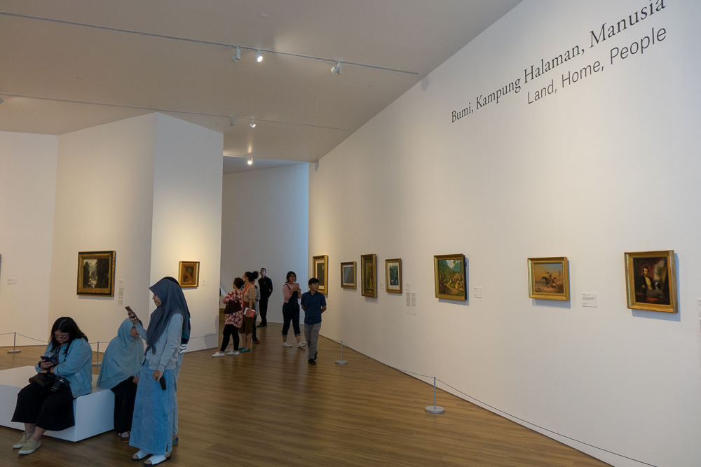 Indonesian historical section - Museum MACAN Jakarta