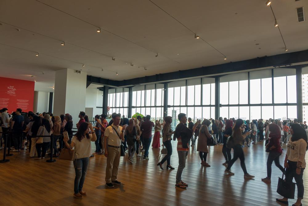 Entrance queue - Museum MACAN Jakarta