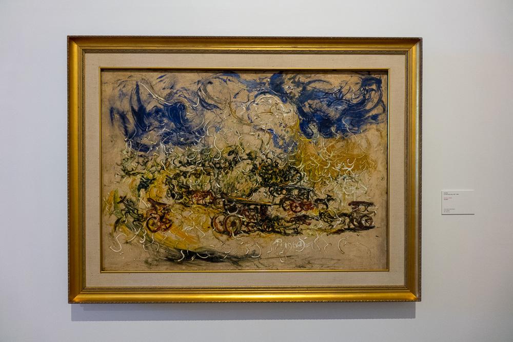 Chariots Painting - Museum MACAN Jakarta