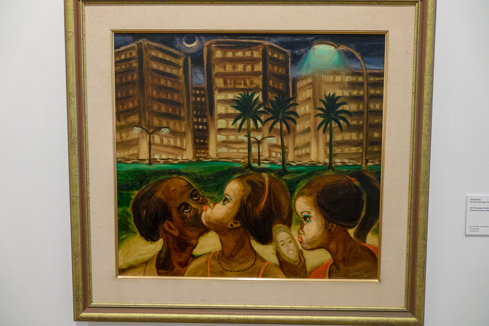 Contemporary painting offers social commentary - Museum MACAN Jakarta