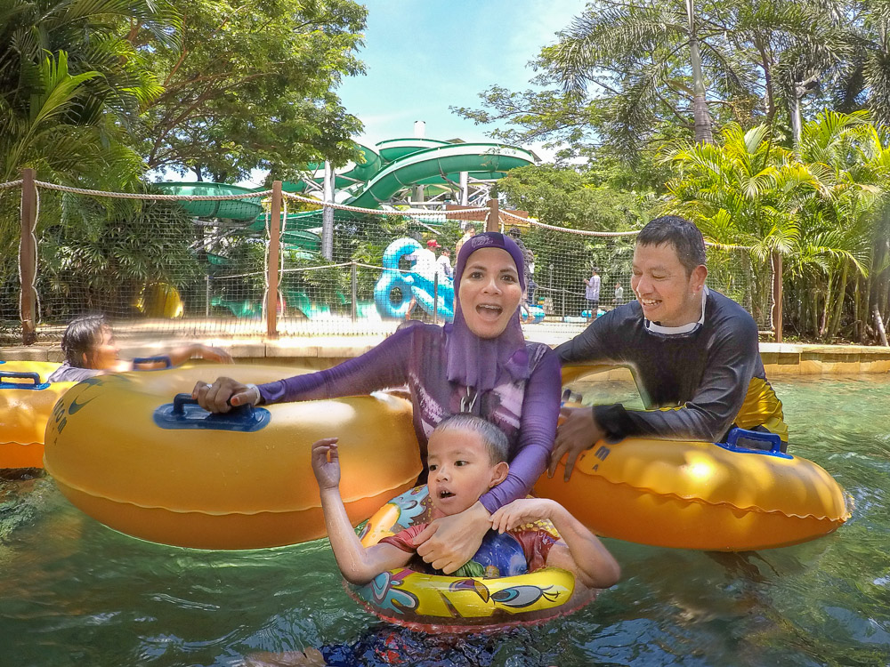 Family day out - Waterbom Jakarta