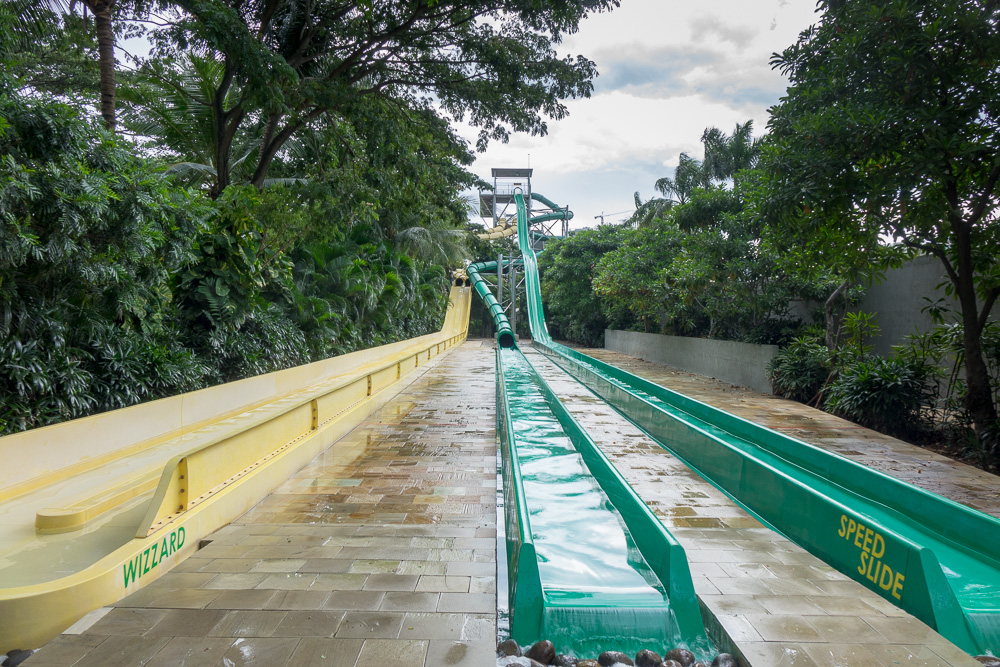 The end of the Wizzard, Black Hole and Speed Slide - Waterbom Jakarta
