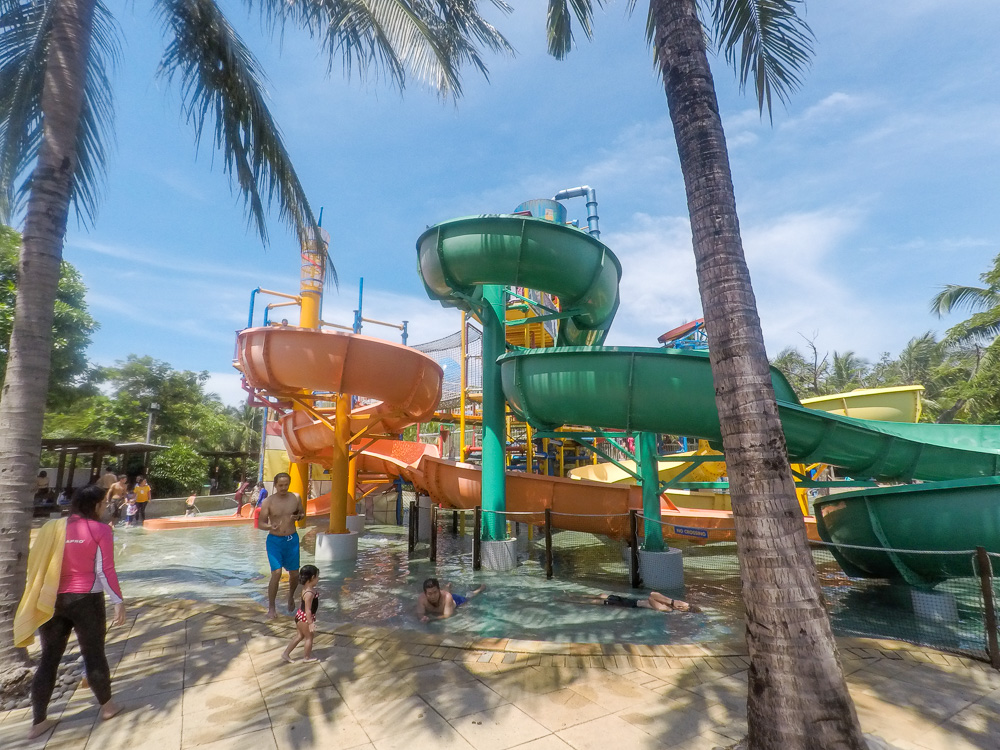 Kids and family slides - Waterbom Jakarta