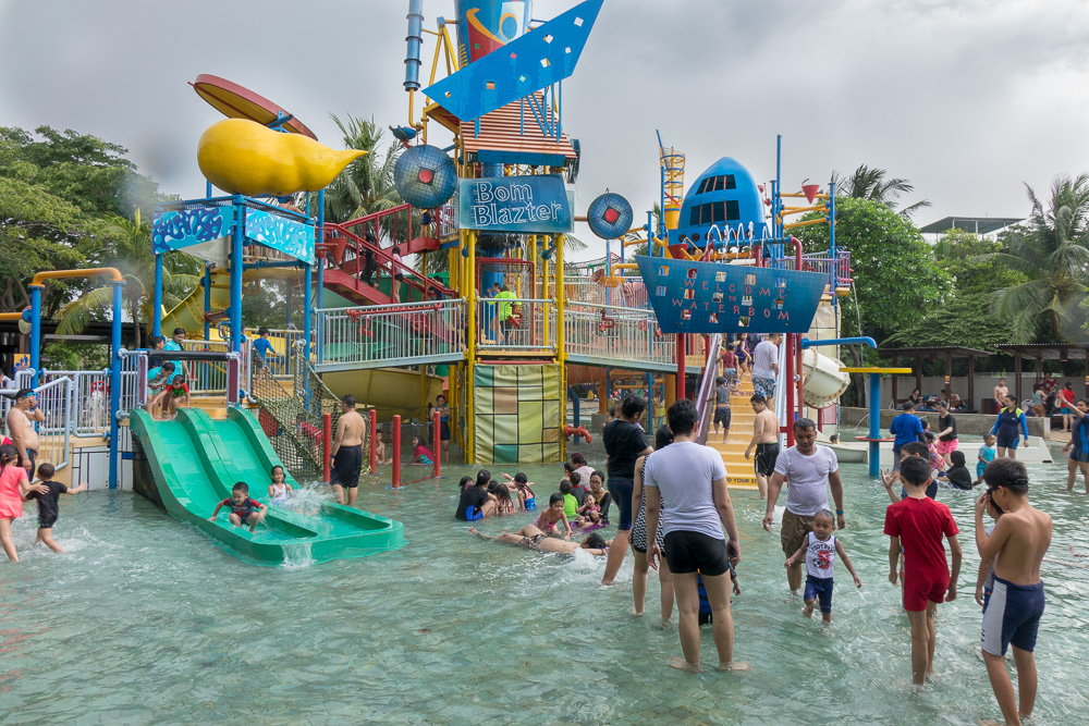 Kids and family fun area - Waterbom Jakarta